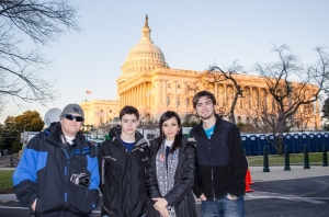 Junior Fellows at the Capitol Building