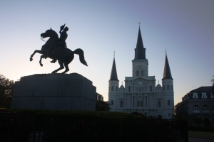 Andrew Jackson and the St. Louis Cathedral