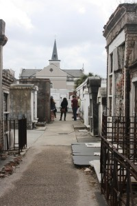 Arjenae and Coby at St. Louis Cemetery